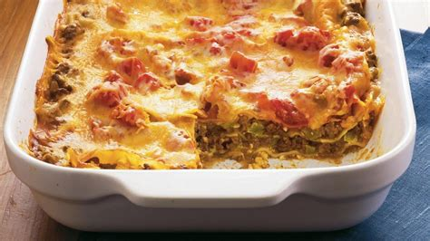 Betty Crocker Lasagna Recipe With Cottage Cheese by Enchilada Lasagna Made Delicious