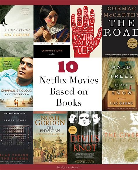 Books Free Is Not Netflix For Books 10 netflix based on books family favorites