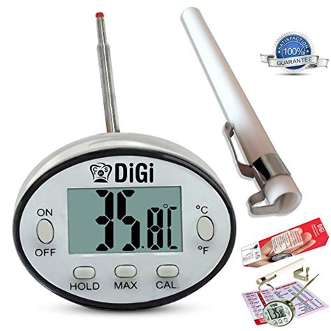 food heat l temperature heat digital thermometer instant read kamisco