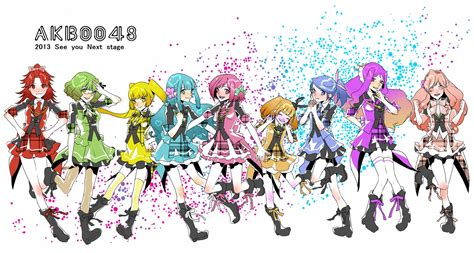 Akb0048 Characters