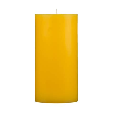 Vases For Centerpieces For Weddings 3x6 Yellow Pillar Candle