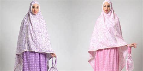 hijabenka mukena motif batik warna pastel co id