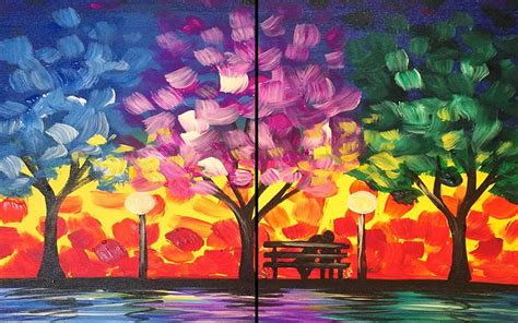 paint nite cda in the park sat aug 05 7 30pm at pinot s