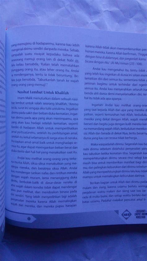 Agar Rumahmu Tak Seperti Kuburan Zam Zam Karmedia buku biografi empat imam mazhab mendulang hikmah perjalanan