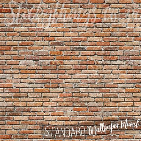 brick wall murals brick wallpaper mural backstein brick wall mural
