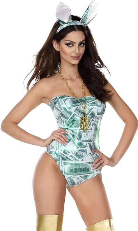 money bunny sexy rabbit costume