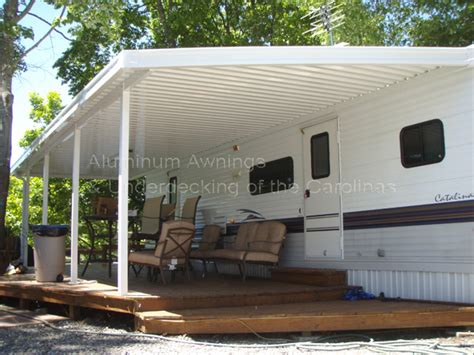 Rv Patio Enclosures by Aluminum Awnings Underdecking Patio Cover Carport Deck