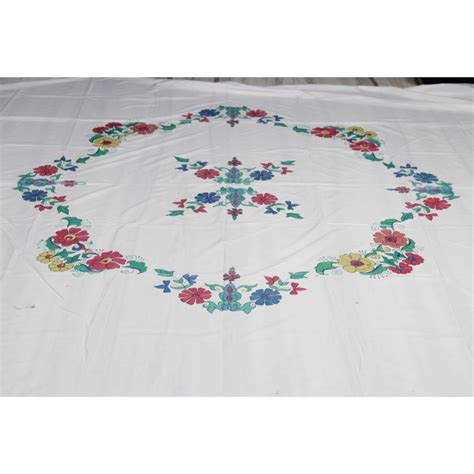 bed sheet embroidery design colourful embroidered bedsheet set online shopping 0