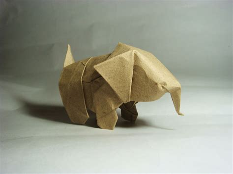 Origami Baby Elephant - are these origami animals awesome you bet giraffe they are