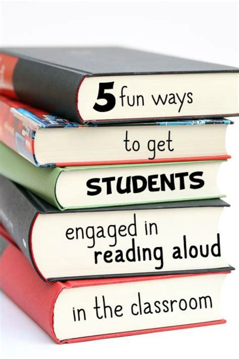 5 Interesting Reads by 5 Ways To Get Students Engaged In Reading Aloud