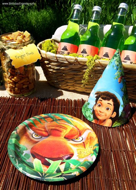 jungle book themed birthday party jungle book party hats birthdayexpress com