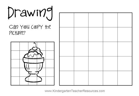 Teach Kids To Draw Drawing Sheets