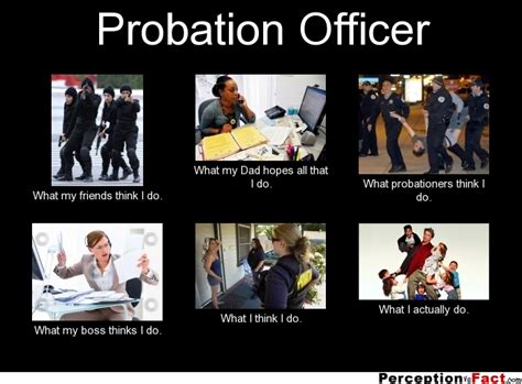 Parole Vs Probation Officer by Probation Officer What Think I Do What I