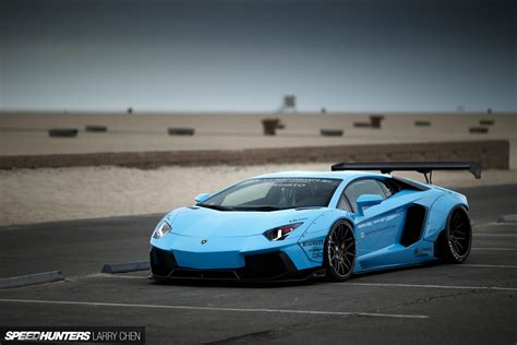Raket Rs Speed Blue wallpapers lamborghini aventador by liberty walk