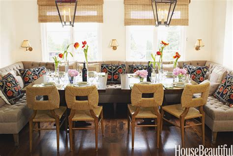dining room with banquette seating comfortable home design how to make home cozy