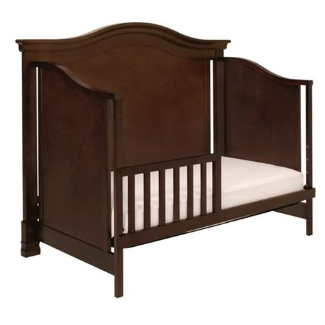 Million Dollar Baby Louis Crib Million Dollar Baby Classic Louis 4 In 1 Convertible Crib In Espresso M3401q