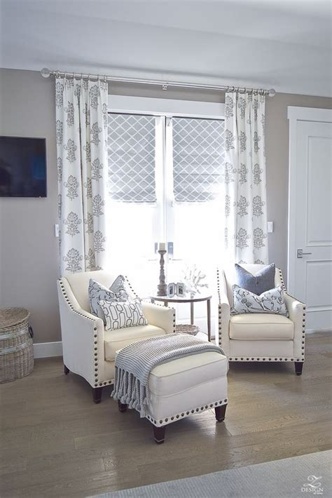Vintage Inspired Bedrooms Neutral Transitional Master Bedroom Sitting Area Home