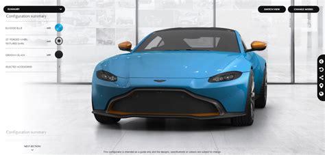2019 Aston Martin Vantage Configurator by Aston Martin Vantage Configurator New Car Reviews