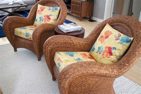 pottery barn wicker chair and ottoman pottery barn rattan chair and ottoman chairs seating