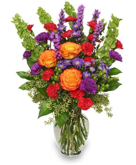 Arranging Roses In A Vase Hooray For Summer Bouquet Summer Flowers Flower Shop