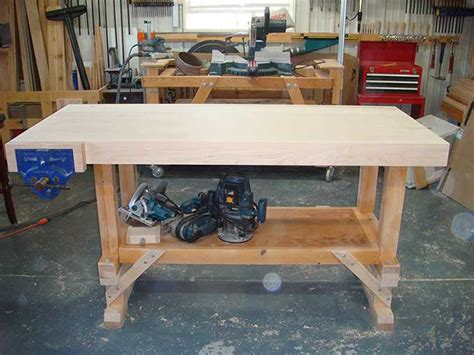 Wood Woodworking Bench Top Design Pdf Plans