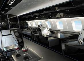 Private Jet Interiors Flying House Luxury Private Jet Interiors