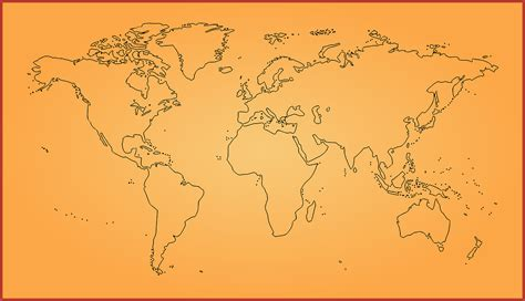 draw maps ow to draw a map of the world free printable stencils