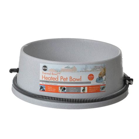 heated water bowl k h pet products k h pet products thermal bowl heated water bowl waterers