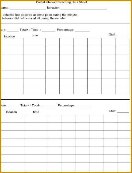 tracking sheet template for teachers 5 tracking sheet template for teachers fabtemplatez