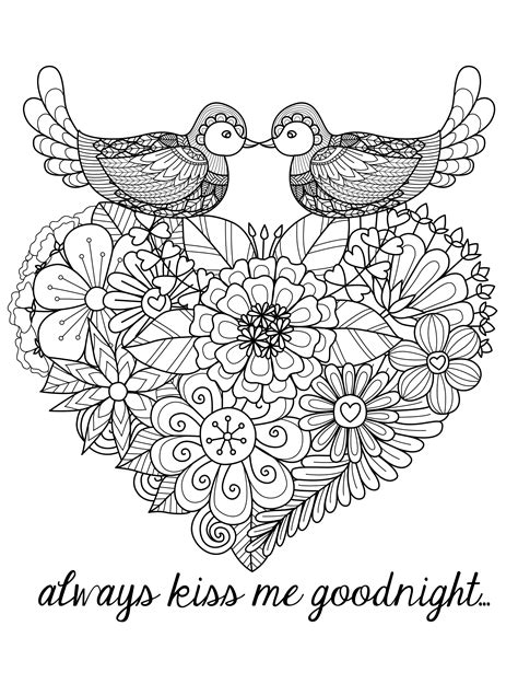 printable coloring pages for adults hearts 20 free printable valentines adult coloring pages page