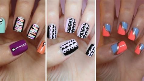 easy nail art with steps nail art step by step tutorials step by step nail designs