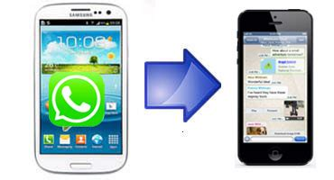 how to transfer whatsapp from android to iphone how to transfer whatsapp conversations from android to iphone