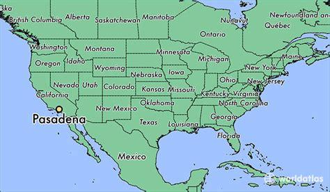 pasadena california map where is pasadena ca where is pasadena ca located in