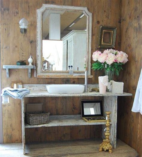 mobili per arredare il bagno 7 idee per arredare il bagno in stile shabby design mag