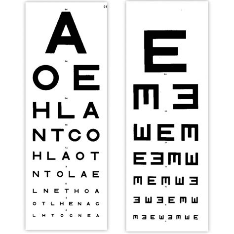 eye test eye test chart 6 metre distance tvh sports supports