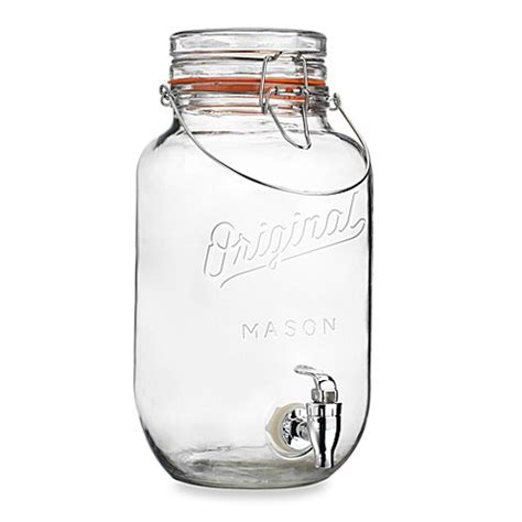 Punch Home Design Essentials buy yorkshire 2 gallon mason jar beverage dispenser from