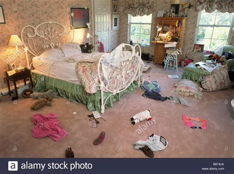 messy teenage bedroom messy teen girl s bedroom stock photo royalty free image