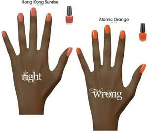 nail colors for brown skin winter nail colors for brown skin nail