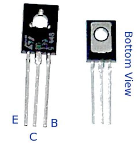 pinout transistor bd139 curtain circuit