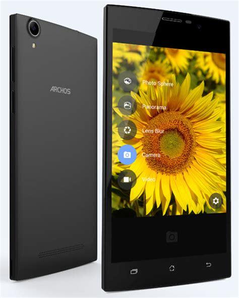 Lu Xenon Platinum archos de nouveaux smartphones avec grands 233 crans hd 224