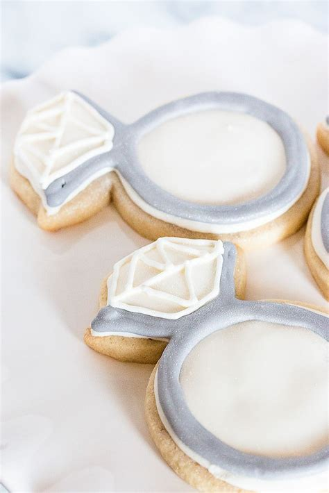 Wedding Ring Cookies by 17 Best Images About Engagement Cookies On