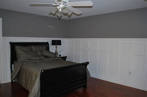 Wainscoting Bedroom | 60 quot tall double panel wainscoting pictures dining room