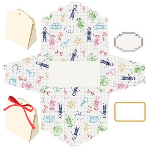baby shower favor templates favor box template printable png1 baby shower ideas