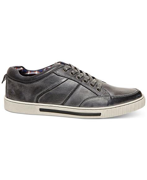steve madden sneakers steve madden pipeur sneakers in gray for lyst