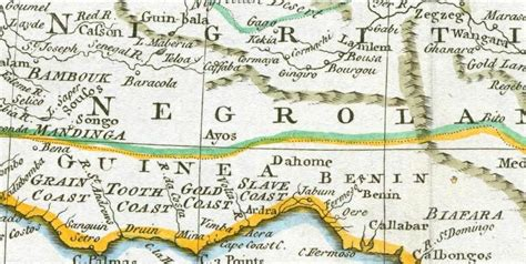 africa map 1747 hebew lands of africa series maps of juda in west afr