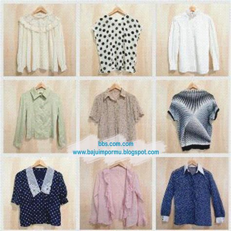 Blouse Import 3 Atasan Import Baju Premium Baju Wanita Import paket blus premium baju import