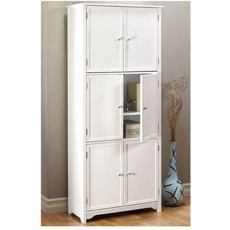 storage cabinet home depot home decorators collection oxford white storage cabinet