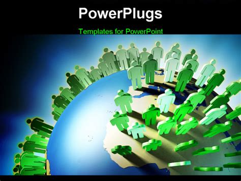 World Population Rise And Earth Overcrowding Digital Population Ppt Templates Free