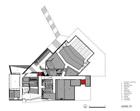 lyric theatre floor plan gallery of lyric theatre belfast o donnell tuomey architects 25