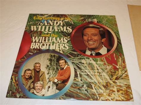 rosemary clooney albums value christmas with andy williams and brothers c 10105 lp album